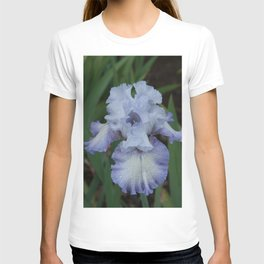 Blue Iris by Teresa Thompson T-shirt