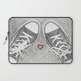 Sneaking Up On Love Laptop Sleeve