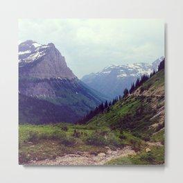 Montana Mountains  Metal Print