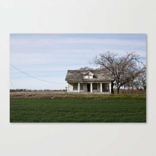 Lonestar Road Canvas Print