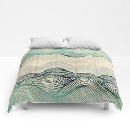 Crash Into Me Waves Comforters