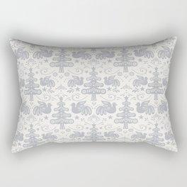 Hygge - Scandinavian Winter (grey) Rectangular Pillow