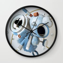 3D Objective Wall Clock