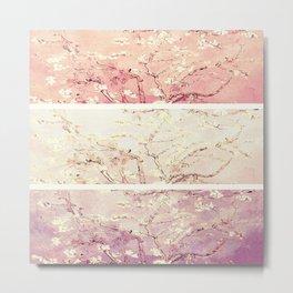 Vincent Van Gogh : Almond Blossoms Panel ART Metal Print