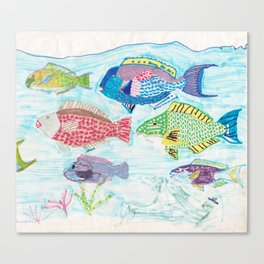 Seychelles Fish 1 Canvas Print