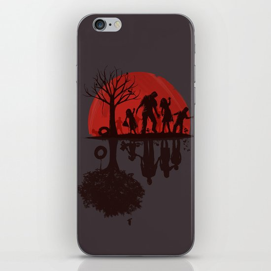 A Family Once (dark version) iPhone & iPod Skin