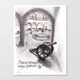 One museum at Antigua Guatemala Canvas Print