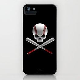 Phantom Ballplayer iPhone Case