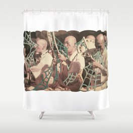 VINTAGE CHANTS Shower Curtain