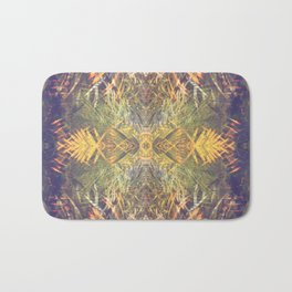 Tropical Kaleidoscope  Bath Mat