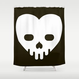 Love Kills Shower Curtain