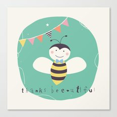 Boris Bee Canvas Print