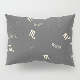 Scorpio Pattern Pillow Sham