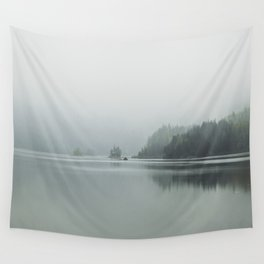 Fog - Landscape Photography Wall Tapestry