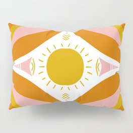 sunshine mandala Pillow Sham