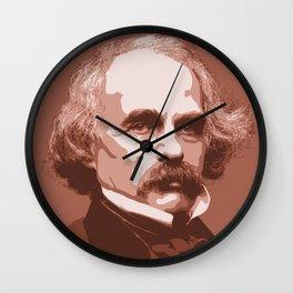 Nathaniel Hawthorne Wall Clock