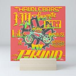 Handlebars Mini Art Print