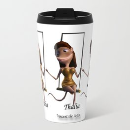 Thalia on trapeze from Vincent the Artist Travel Mug