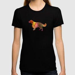 Welsh Springer Spaniel in watercolor T-shirt