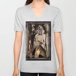 Marie Laveau {Laveaux} (The High Priestess)  Unisex V-Neck