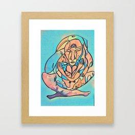 Tears of the Divine Feminine Framed Art Print