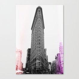 Flatiron Pop Canvas Print