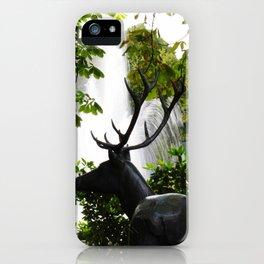 Hirsch iPhone Case