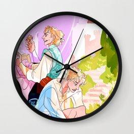Auguste & Laurent in Arles Wall Clock