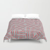 labyrinth Duvet Covers featuring Labyrinth by LoRo  Art & Pictures