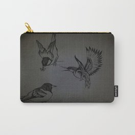 Birdy, birdy in the sky Carry-All Pouch