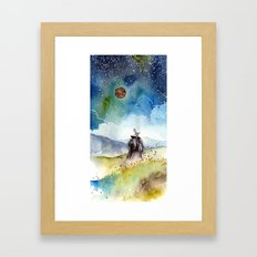 Wizard Framed Art Print