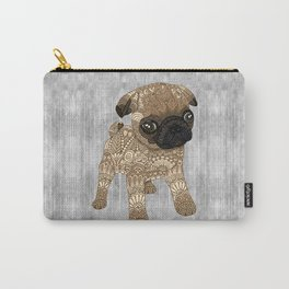 Adorable Pug Puppy Carry-All Pouch
