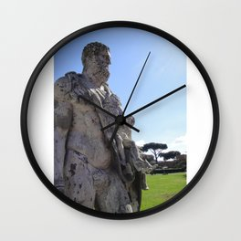 Ancient Statue? Wall Clock
