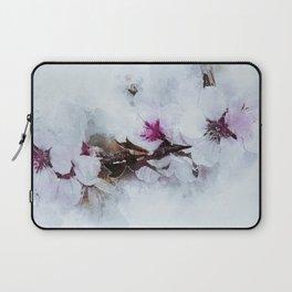 Blossom Bloom Almond Laptop Sleeve