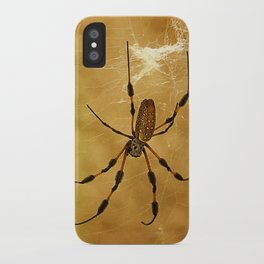 Banana Spider iPhone Case