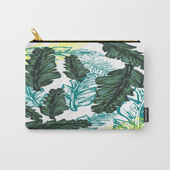 leaf mix1 Carry-All Pouch