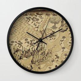 The Wizard world of Hogwarts Wall Clock