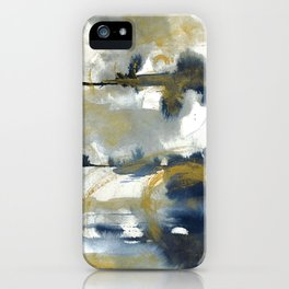 immerse in the current moment iPhone Case