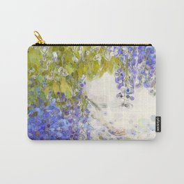 Summer Wisteria art. Carry-All Pouch