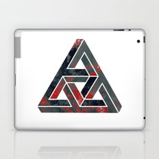 impossible triangle red Laptop & iPad Skin