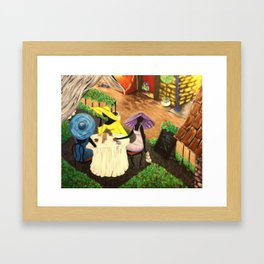 Just Brunch Framed Art Print