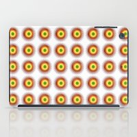 techno iPad Cases featuring techno abstract by laika in cosmos