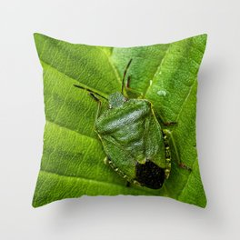 Green life Throw Pillow