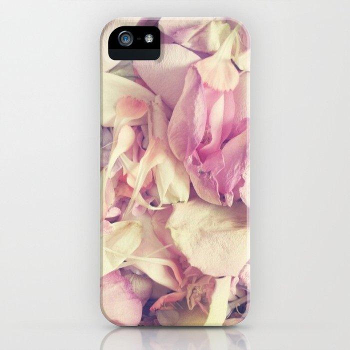 Pastel petals iPhone Case