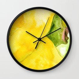 Flor de Cactus Wall Clock