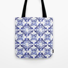 Azulejo V - Portuguese hand painted tiles Tote Bag