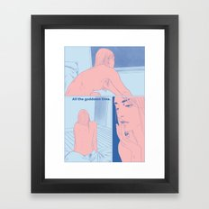 I Keep Dreaming About You pt 2 Framed Art Print