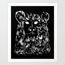Bear With It Art Print