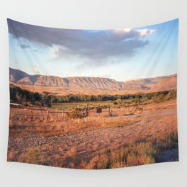 Wyoming Witching Hour Wall Tapestry