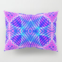 psychedelic lines Pillow Sham